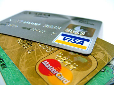 Credit Card for car hire in Dublin - VISA, MasterCard