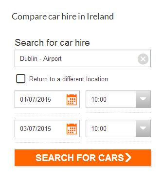 Cheapest Car Hire Website How To Use It Dublin Hire